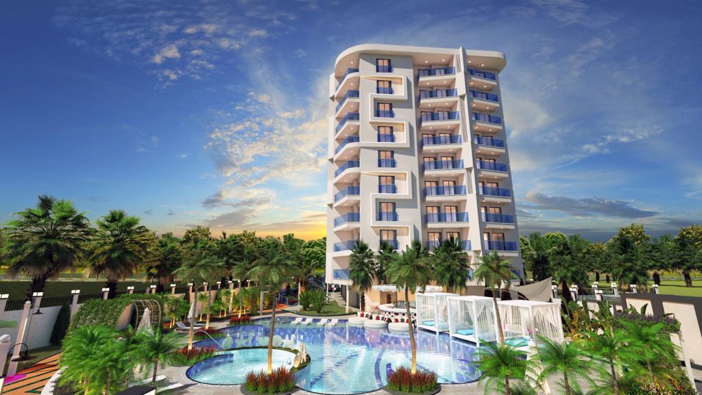 Инвестиционный проект на этапе Pre-Sale в центре Алании (00652)