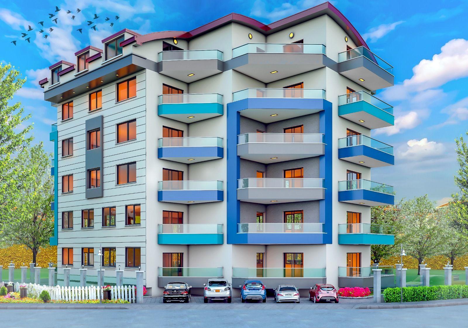 Недорогие квартиры в Махмутларе (001452)