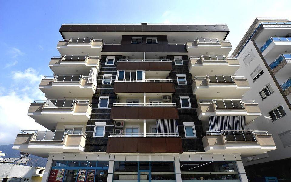 Апартаменты в комплексе у моря, Махмутлар (00132)