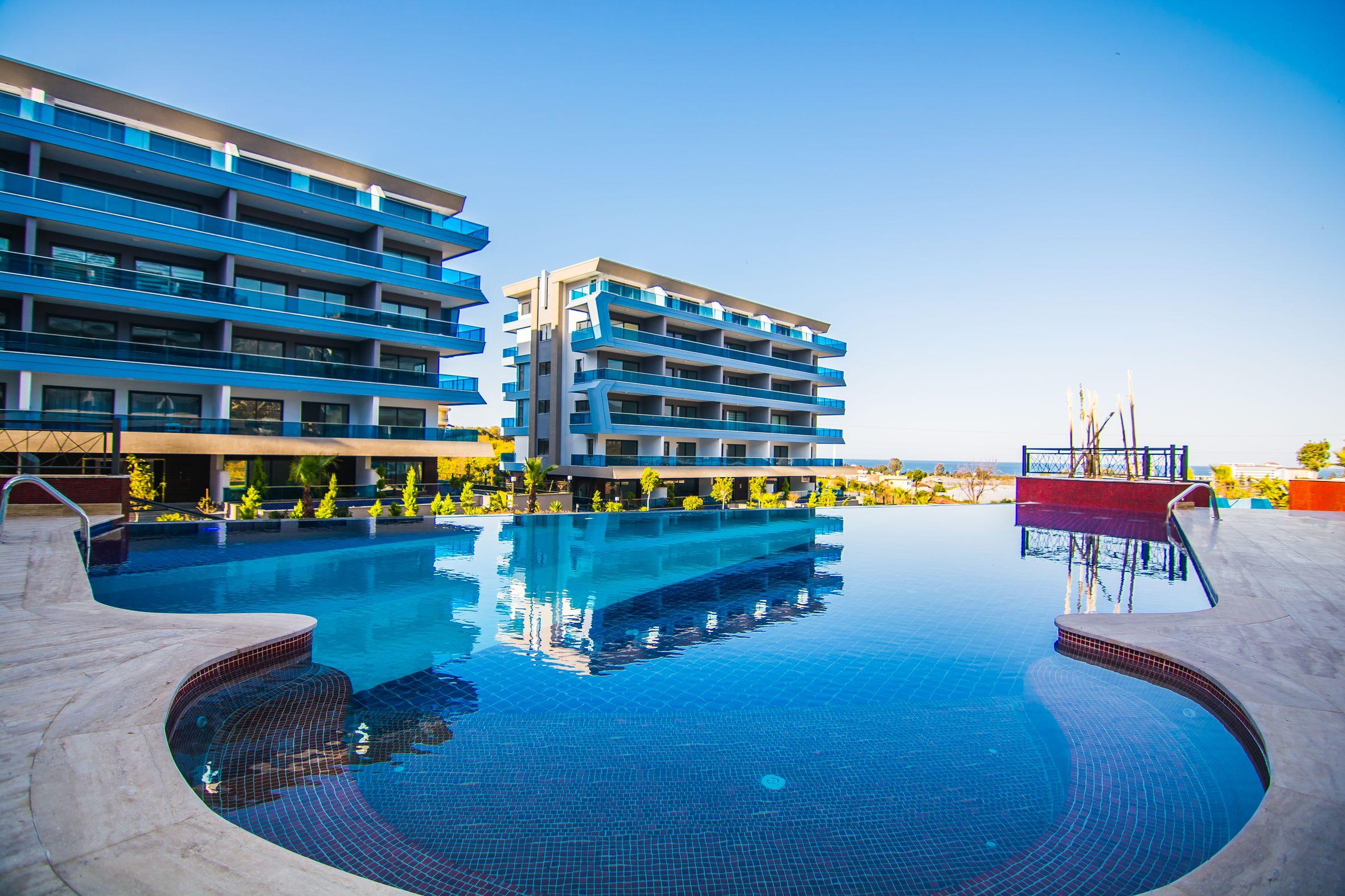 Новый жилой эко-комплекс в красивом пригороде Алании – Каргыджак (001420)